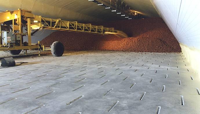 Superieur Potato Storage With Under Floor Air Supply
